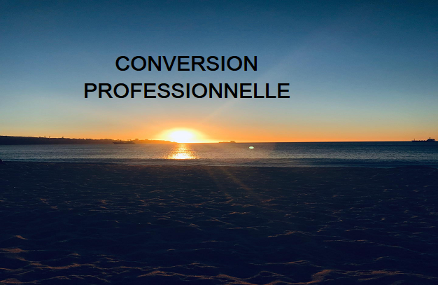 À la conversion professionnelle